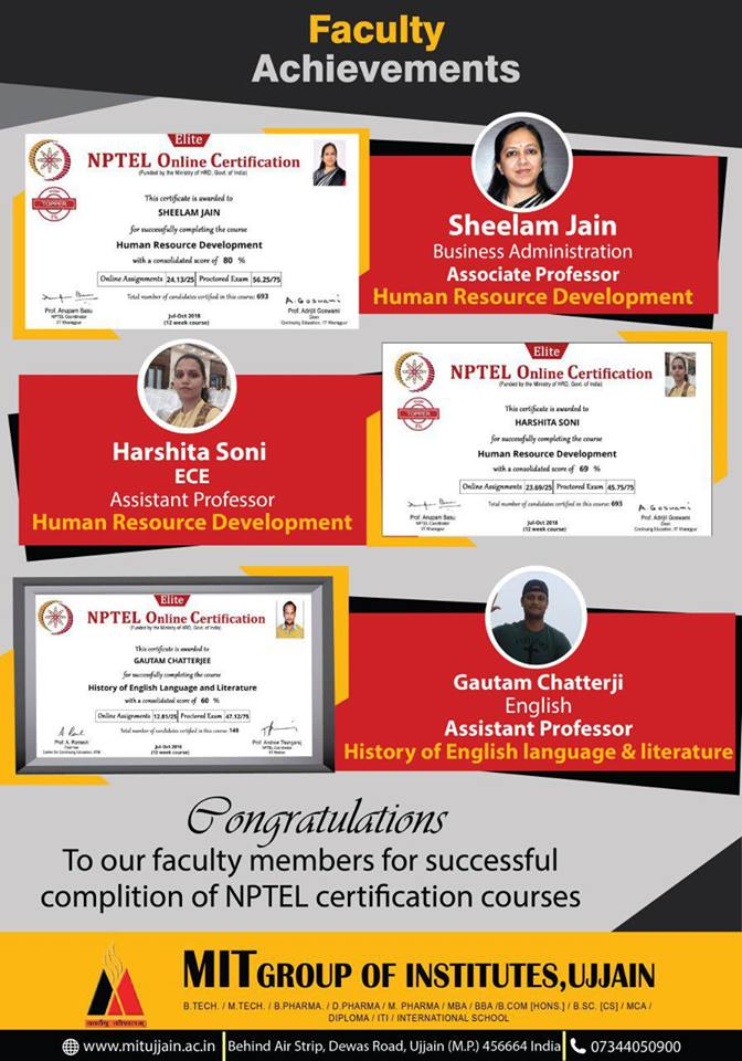 Student's Achievements